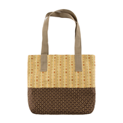 HALLIE'S HANDMADE TOTE BAG-SANDY