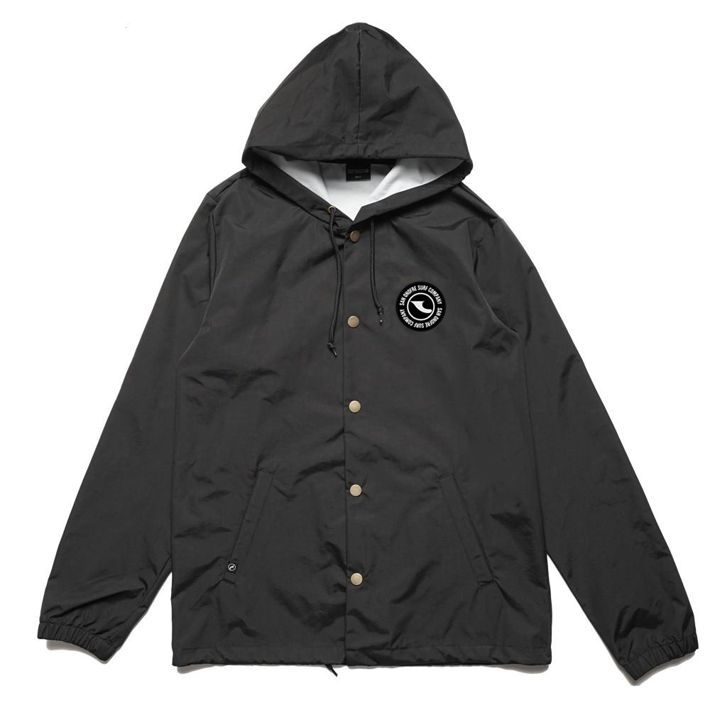 ROUNDABOUT PATCH HOODIE WINDBREAKER