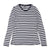 Long Sleeved Nautical Striped Tee