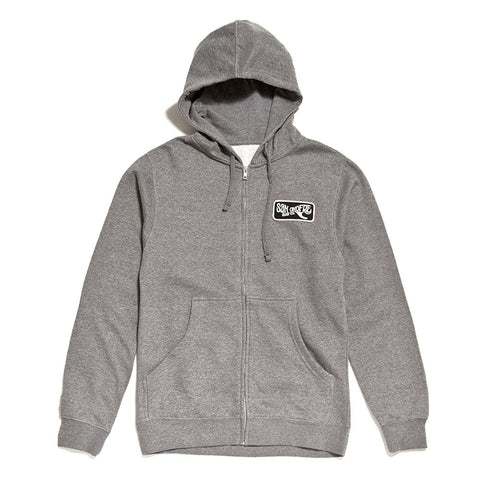 Traditional Zip Patch Hoodie - San Onofre Surf Co.   - 1