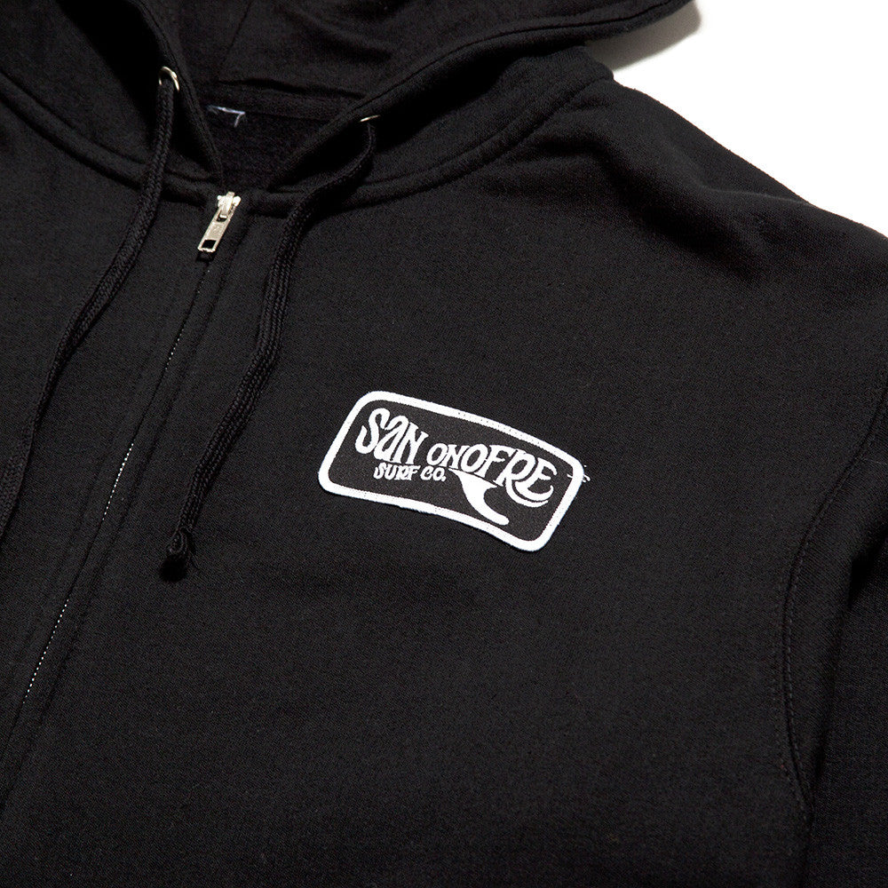 Traditional Patch Hoodie - San Onofre Surf Co.   - 1