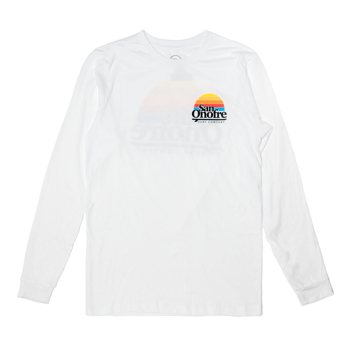 OLD SCHOOL SUN LS TEE