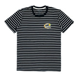 TRIM LINE STRIPED SS TEE