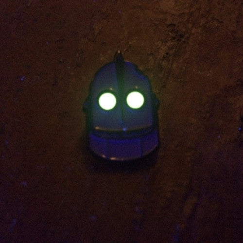 Angry Iron Giant Hard Enamel LE150 bbllowwn x infected resin pin