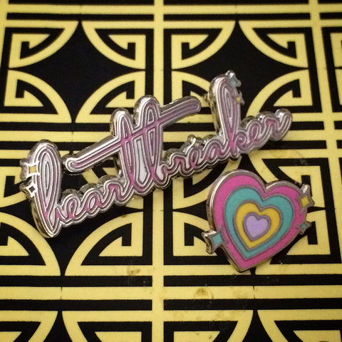 Heartbreaker 2 Pin Set - bbllowwnn x MALE