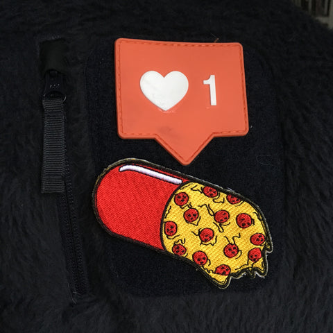 Pizza Pill Morale Patch (velcro)!