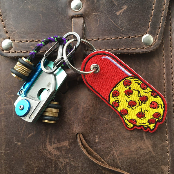 Pizza Pill Key Chain!