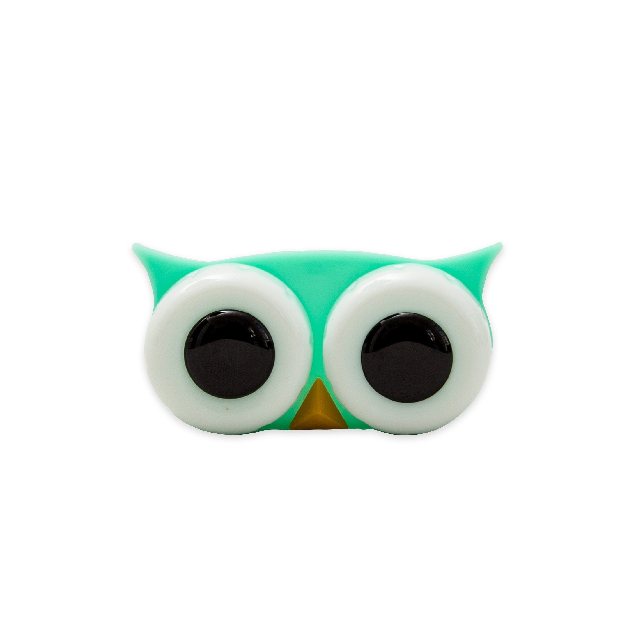 Cases - Mint Green Owl Contact Lens Case