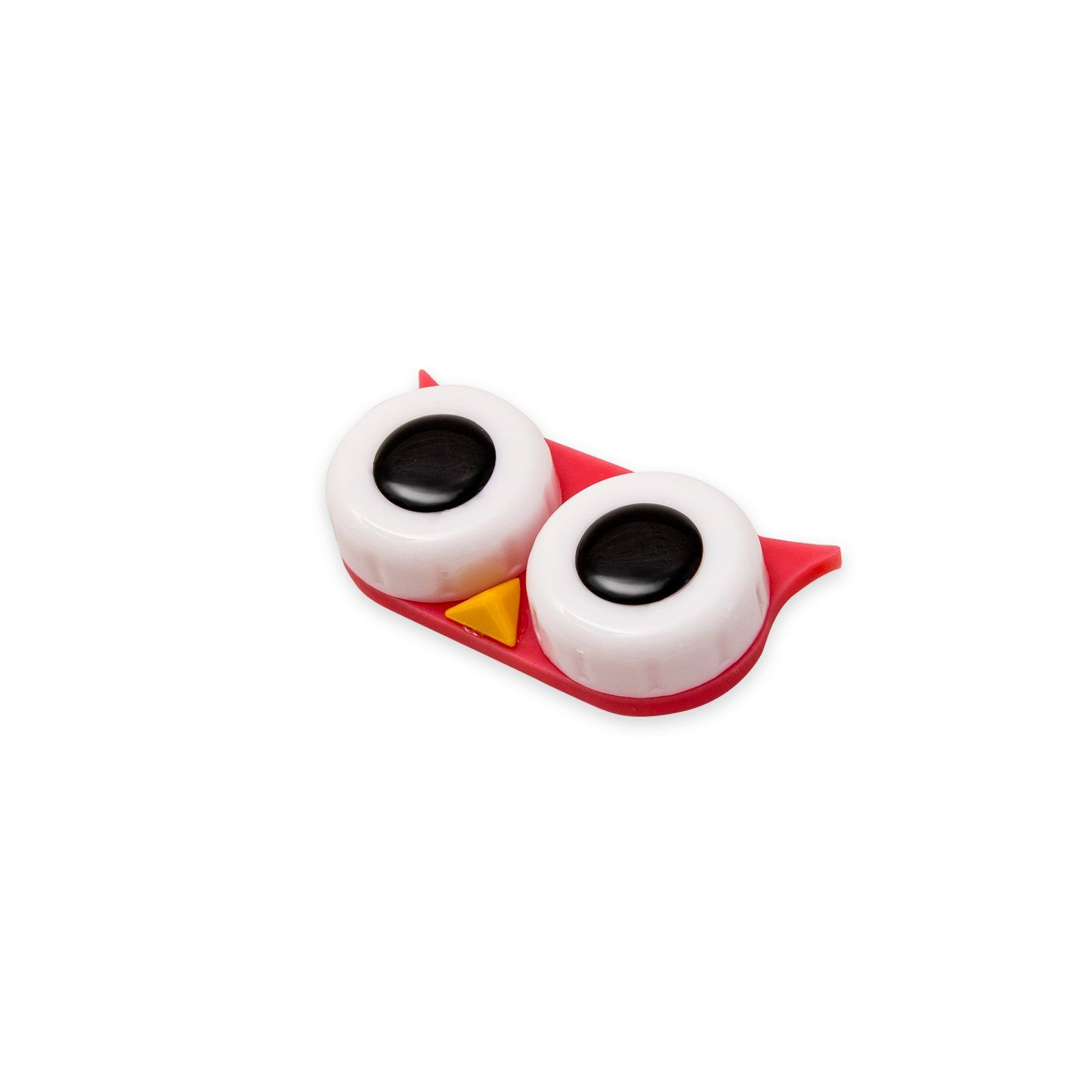 Cases - Red Owl Contact Lens Case