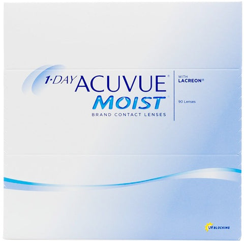 Daily - 1-Day Acuvue Moist 90 Pack