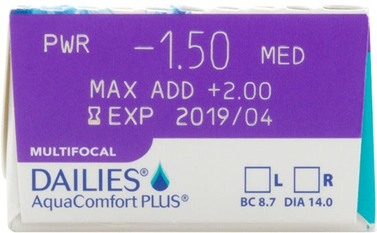 Daily - DAILIES AquaComfort Plus Multifocal 30 Pack