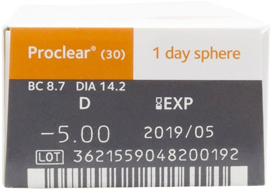 Daily - Proclear 1-Day 30 Pack