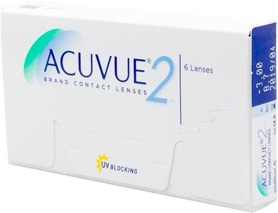 Monthly - Acuvue 2® 6 Pack