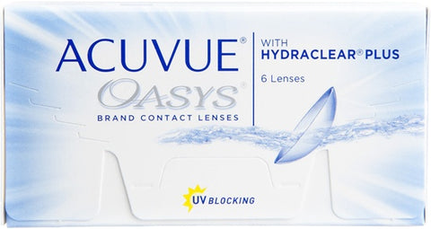 Monthly - Acuvue Oasys 6 Pack