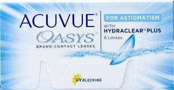 Monthly - Acuvue Oasys For Astigmatism 6 Pack