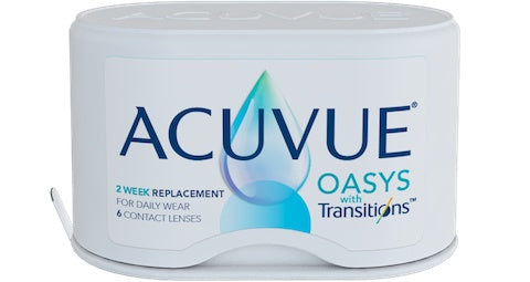 Monthly - Acuvue Oasys With Transitions 6 Pack