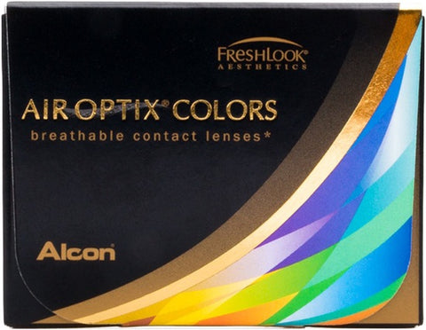 Monthly - Air Optix Colors 2 Pack Non-Prescription