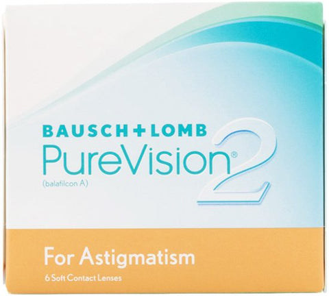 Monthly - PureVision 2 For Astigmatism 6 Pack