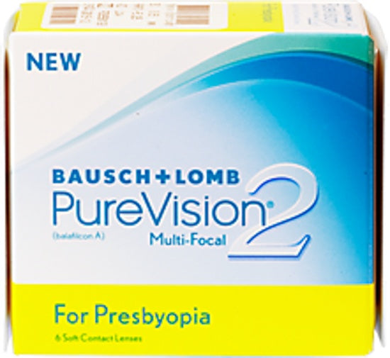 Monthly - PureVision 2 Multi-Focal 6 Pack