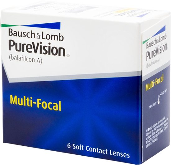 Monthly - PureVision Multi-Focal 6 Pack