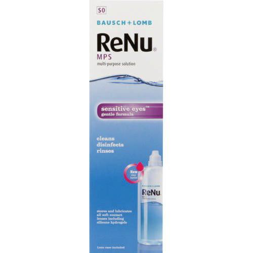 Solutions - ReNu Multi-Purpose Contact Lens Solution 120ml
