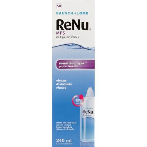 Solutions - ReNu Multi-Purpose Contact Lens Solution 240ml