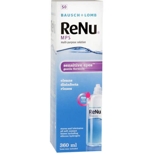 Solutions - ReNu Multi-Purpose Contact Lens Solution 360ml