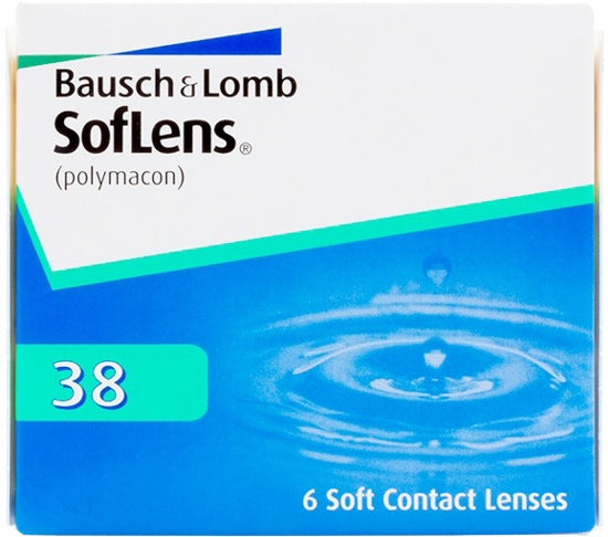 Weekly - SofLens 38 6 Pack