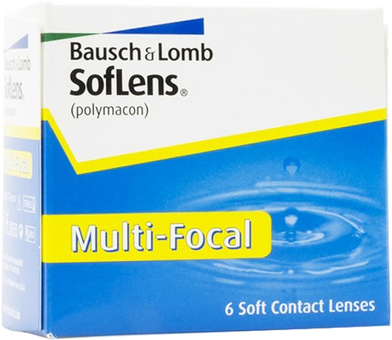 Weekly - SofLens Multi-Focal 6 Pack