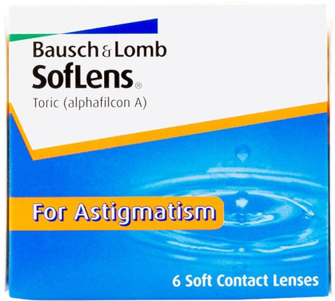 Weekly - SofLens Toric (SofLens For Astigmatism) 6 Pack