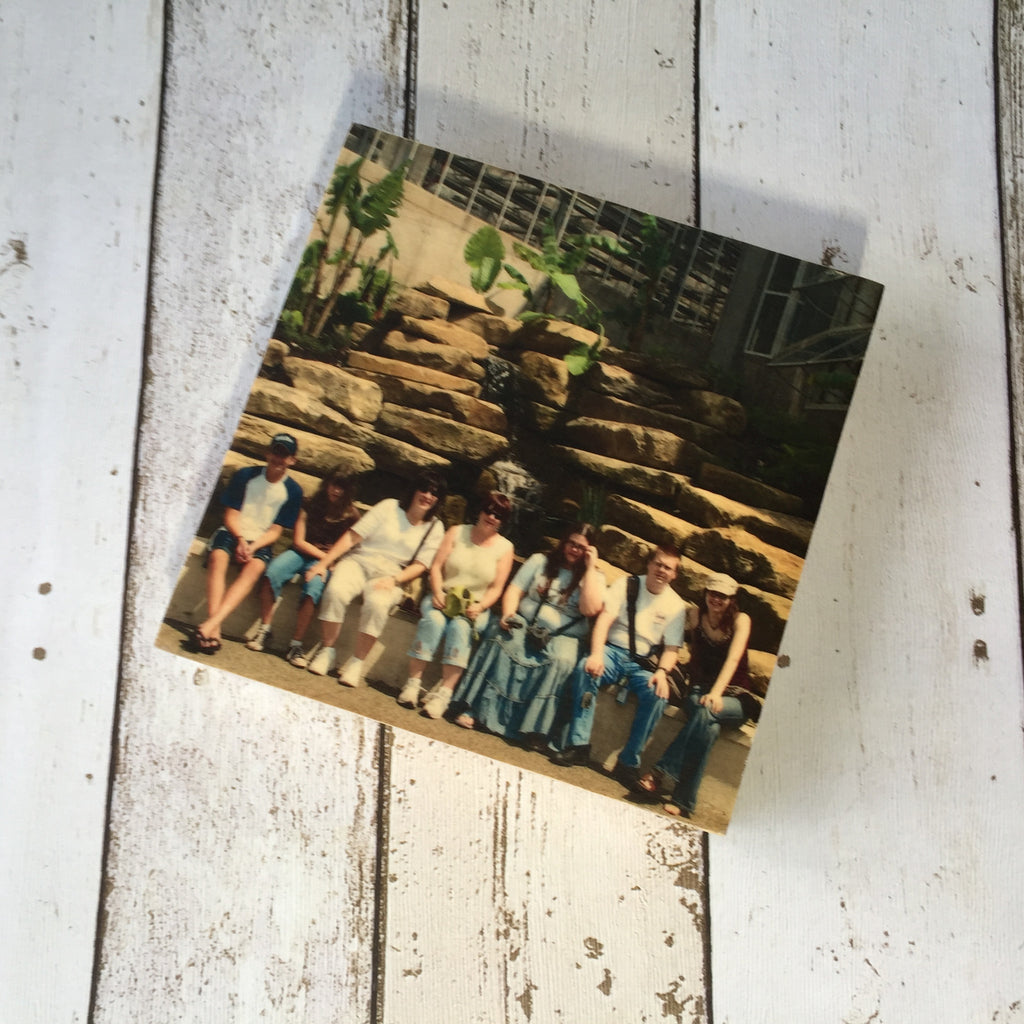 "5x5"" Custom Wood Photo Block"