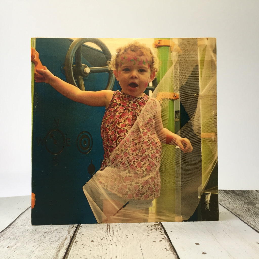 "8x8"" Custom Wood Photo Block"