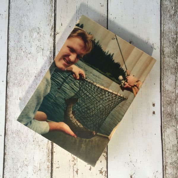 "7x5"" Custom Wood Photo Block"