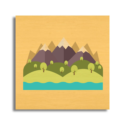 Mini Mountain Landscape