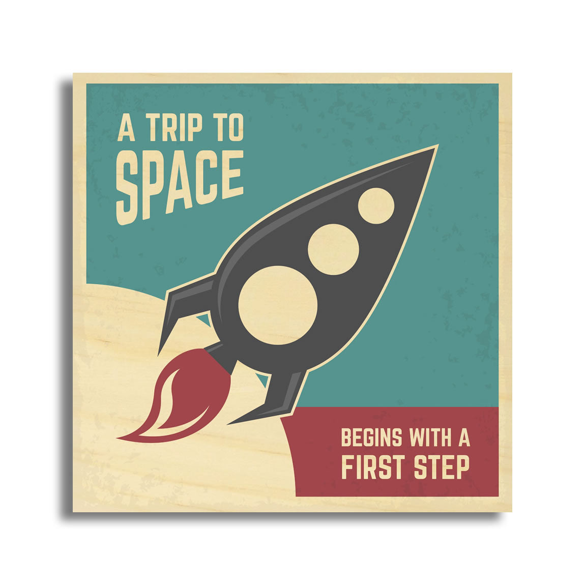 A Trip To Space Begins With A First Step