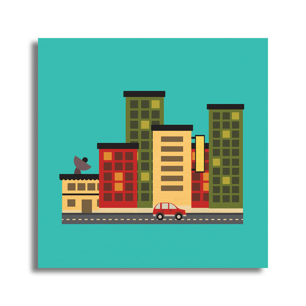 Mini City Landscape