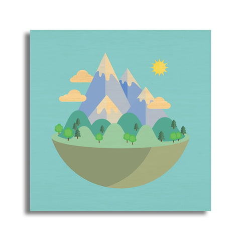 Mini Mountain Landscape 2