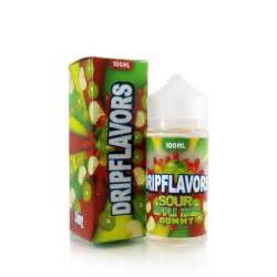 Dripflavors-Sour Apple Kiwi Gummy