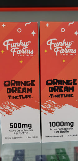 Funky Farms Orange Dream Tincture-CBD