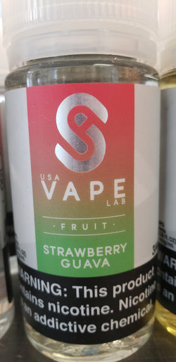 USA Vape Lab - Strawberry Guava