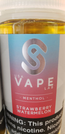 USA Vape Lab - Strawberry Watermelon Menthol