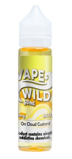 Vape Wild - On Cloud Custard
