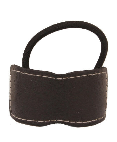 Sewn Leather Pony Elastic Pony 1075