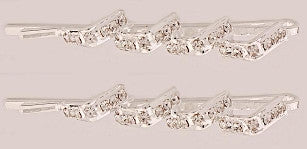 Crystal Stone Mountains Swarovski Bobby Pins (Pair) 37575-1081-2