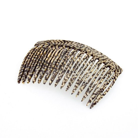 Classic Handmade Side Hair Comb in Pearlised Colors 2120