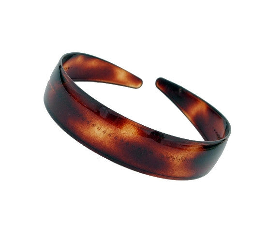 "1"" French Tortoise Shell Headband  12121-518"