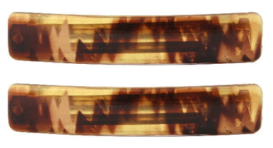 Medium Barrette Honey Color Barrette Pair 5201-2