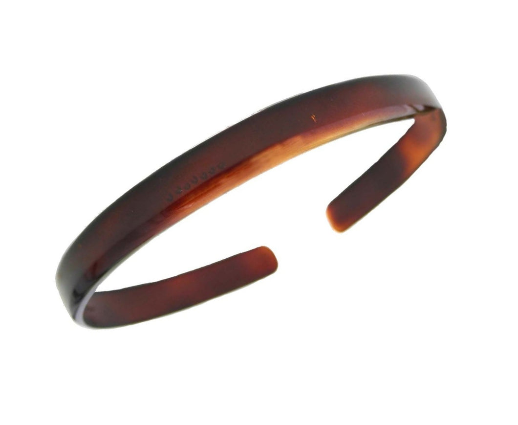 "French 1/2"" Tortoise Shell Headband 12121-522"