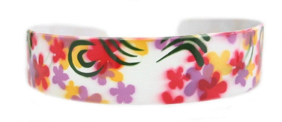 Multi-color Flower Headband 5503