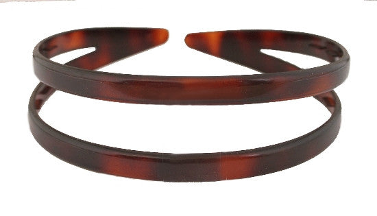 Split French Tortoise Shell Headband 567